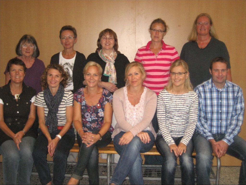 Das Kollegium der Paul-Gerhardt-Schule im Schuljahr 2012/2013